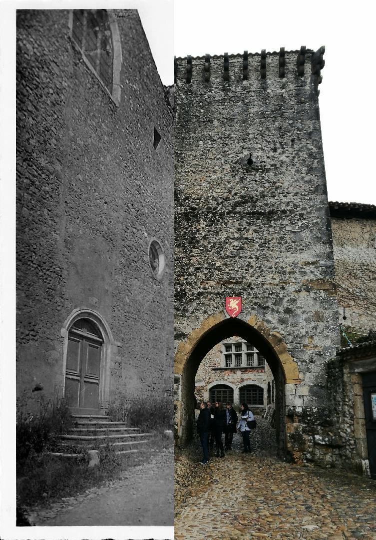 Pérouges - Tour et porte d'En-Haut
