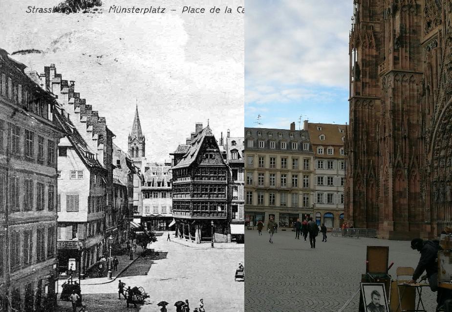 Strasbourg - Place de la Cathédrale