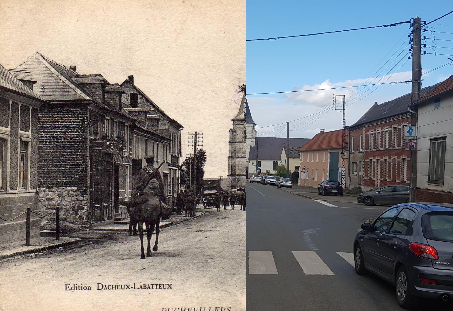 Puchevillers - Grande Rue