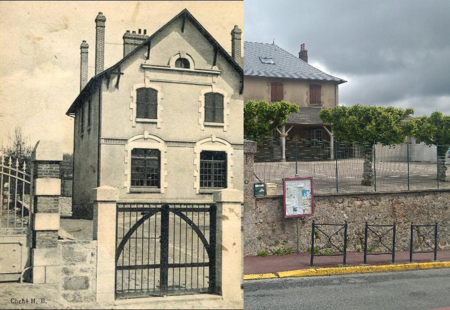 La Jonchère-Saint-Maurice - LA JONCHERE(HAUTE VIENNE) ECOLE
