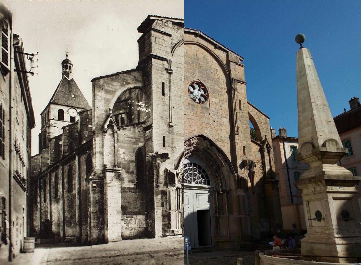 Cluny - Cluny. Eglise N.D. style roman et ogival (XIIe s.).