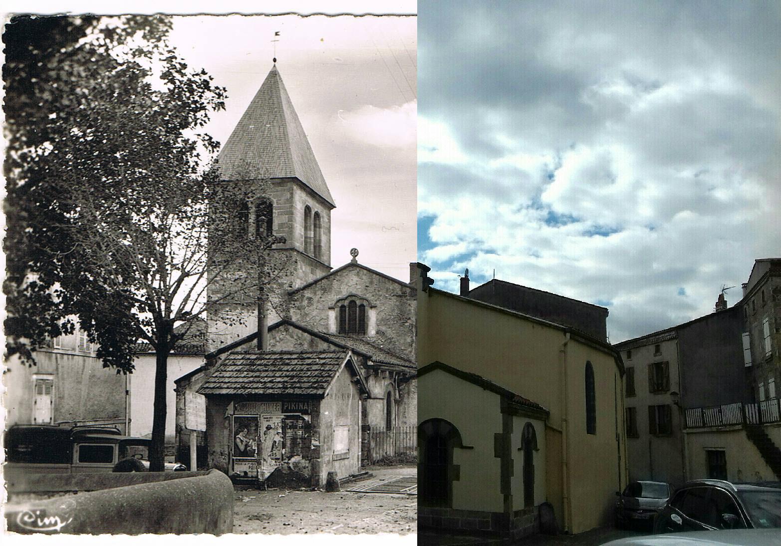 Coudes - Coudes - INSEE 63121 - l'Eglise.