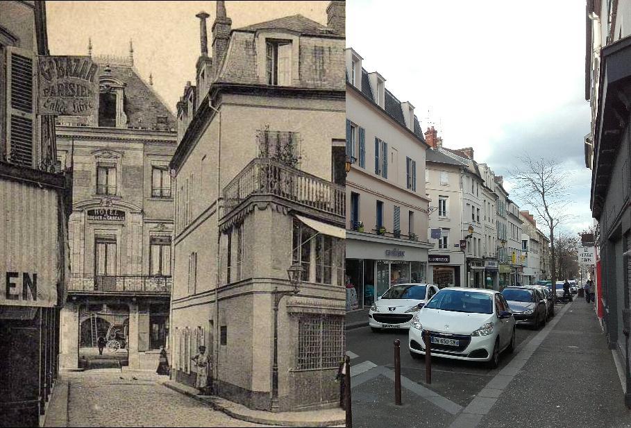 Mantes-la-Jolie - Mantes la Jolie hôtel du Rocher de Cancale Rue Nationale