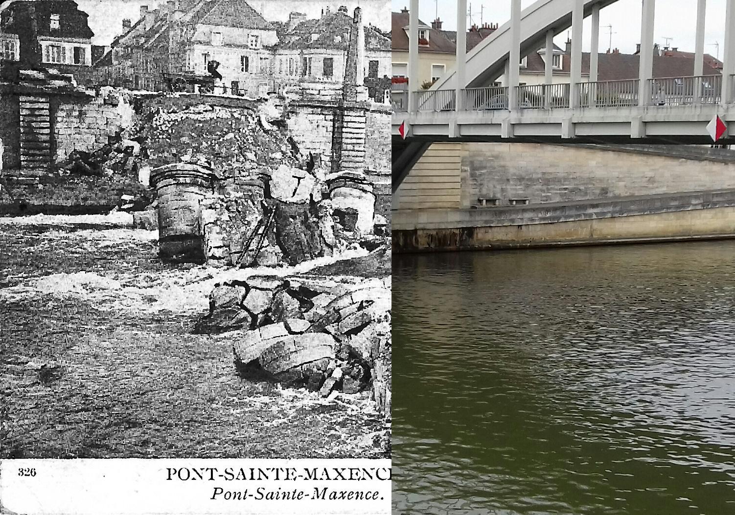 Pont-Sainte-Maxence - Pont-Sainte-Maxence - Le Pont Détruit