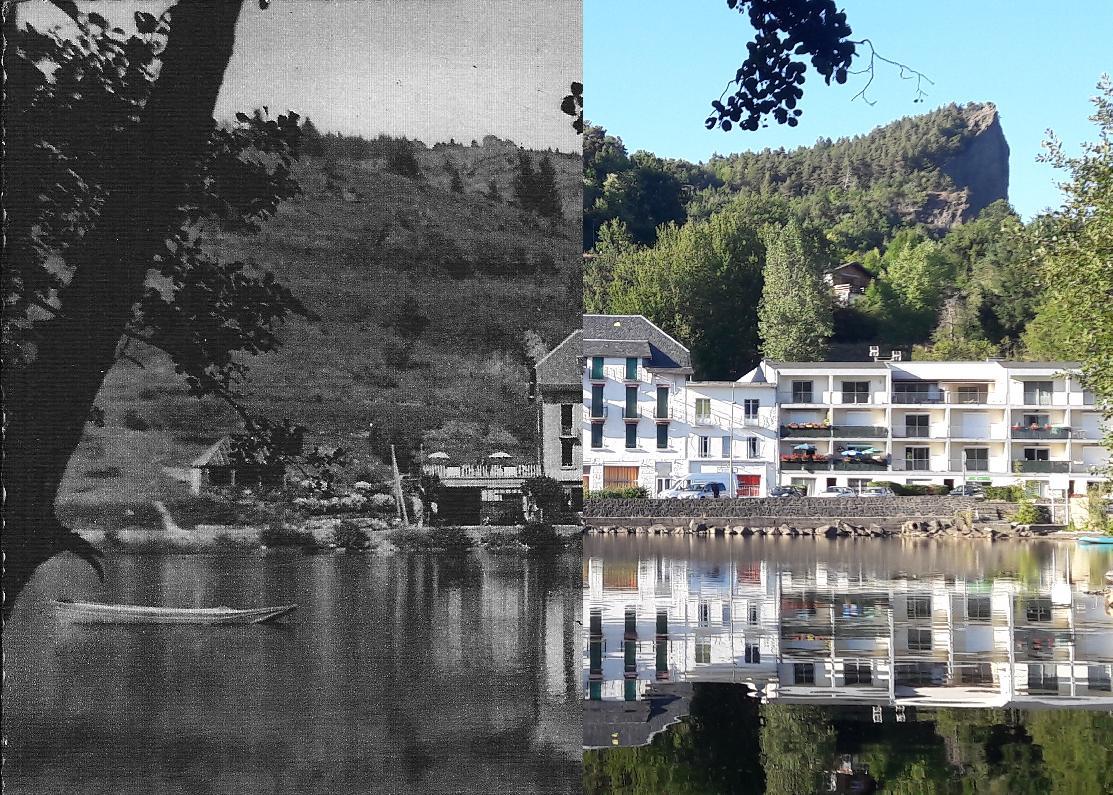 Chambon-sur-Lac - Lac Chambon et Dent du Marais
