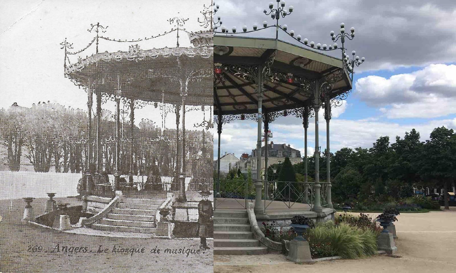 Angers - Le kiosque de musique - 269 L. V. & Cie