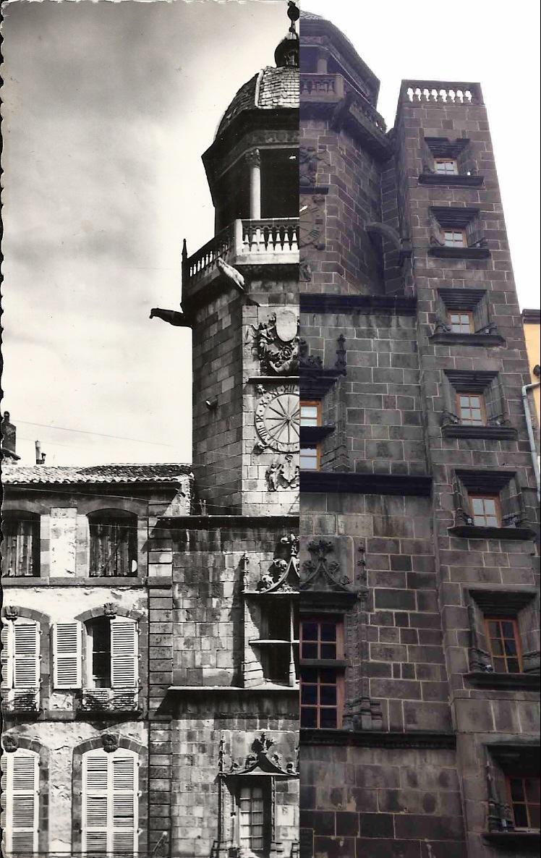 Riom - La tour de l'horloge (beffroi du XVème siècle).