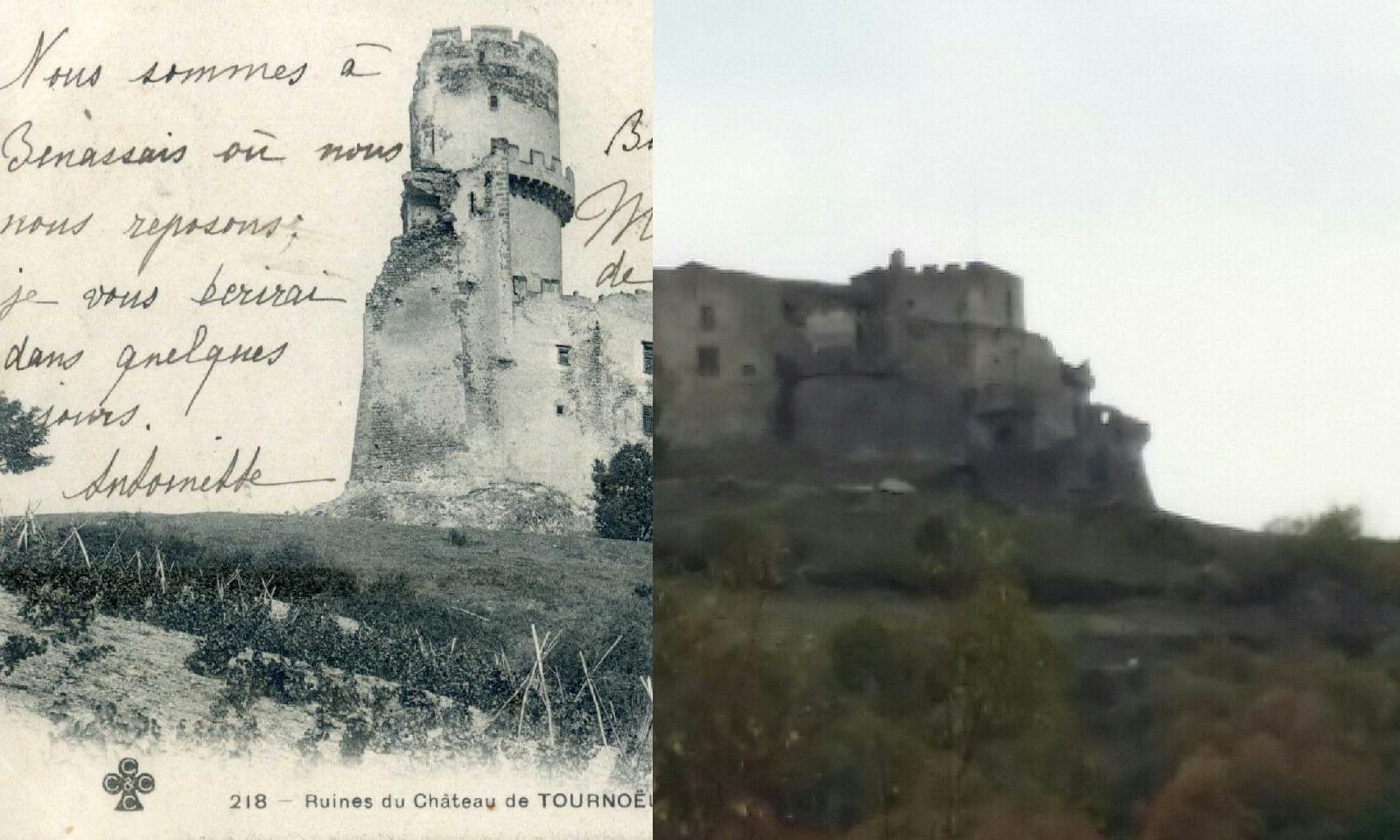 Volvic - Ruines du château de TOURNOEL