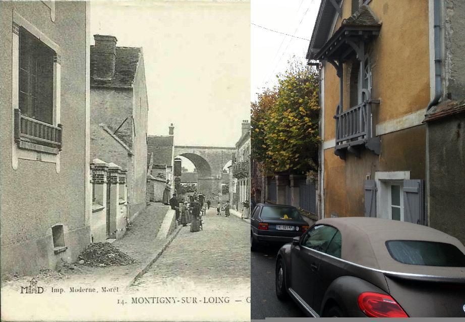 Montigny sur loing montigny sur loing le pont de la gravine carte postale ancienne et vue - Garage montigny sur loing ...