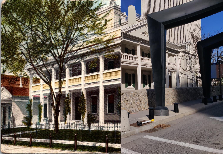 Salt Lake City - Carte postale ancienne et vue d'Hier et Aujourd'hui