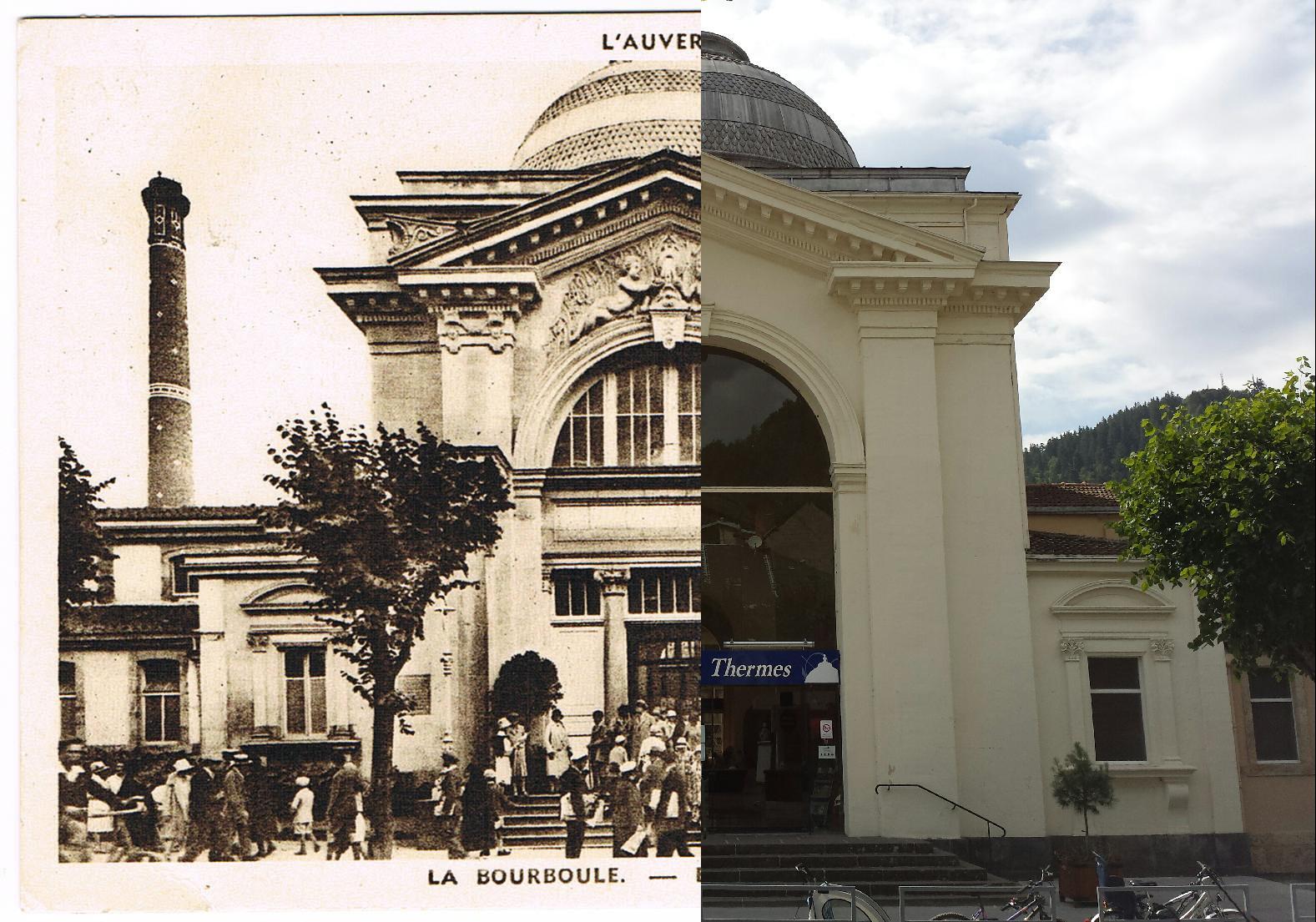 La Bourboule - La Bourboule - INSEE 63047 - Etablissement Thermal. L'Auvergne.