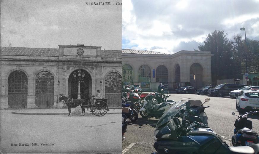 Versailles - Gare Saint-Lazare (Rive droite)