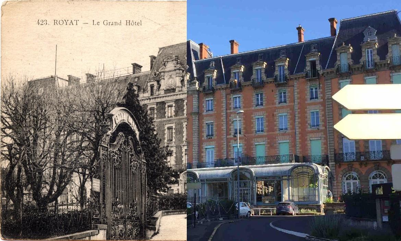 Royat - Le Grand-Hôtel.