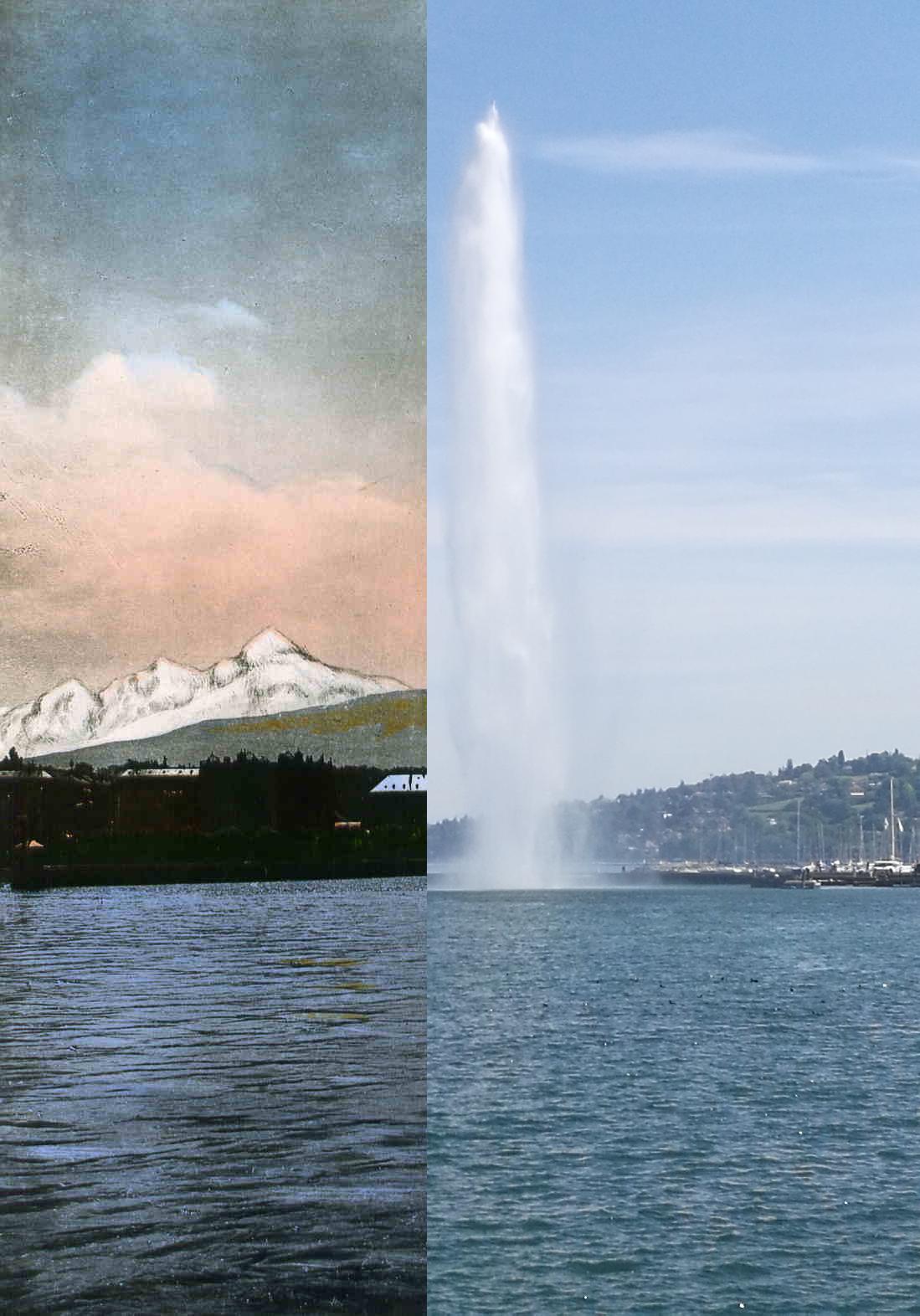 Genève - Le jet d'eau (90m)