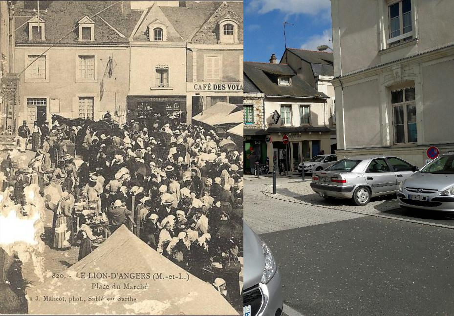 Le Lion-d'Angers - LE LION D'ANGERS - Place du Marché att dommage abime a gauche 57