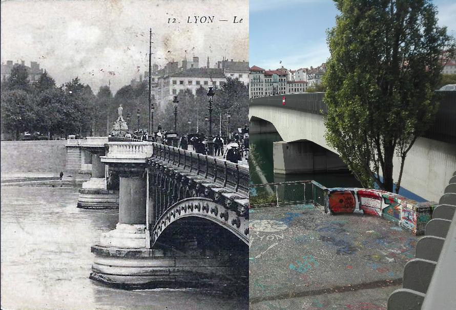 Lyon - Le Pont Morand