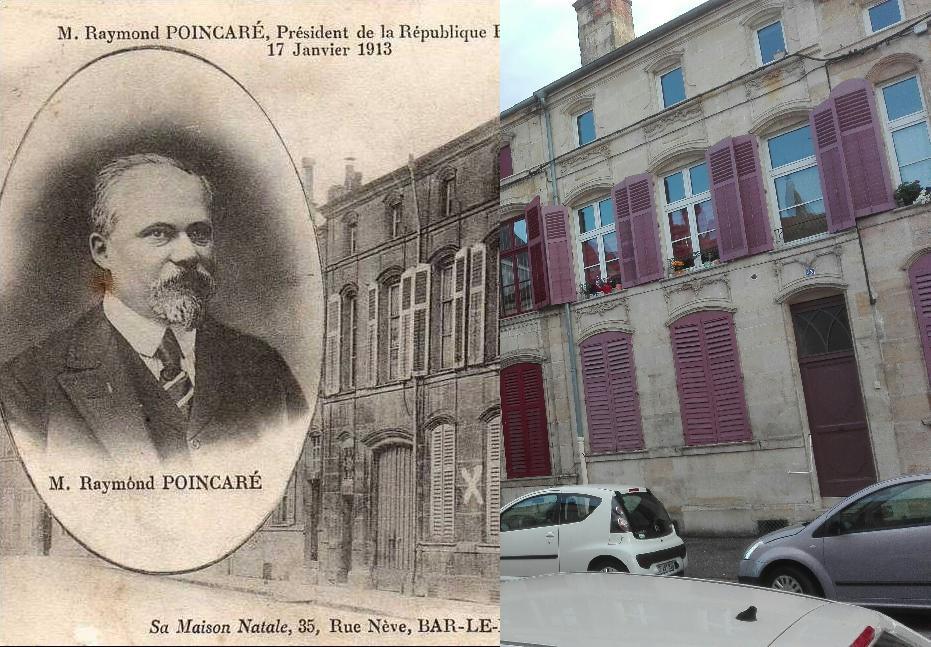 Recherche de cartes postales geneanet for Maison bar le duc