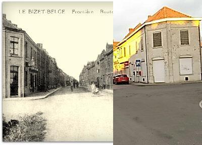 """Ploegsteert - Le Bizet """" Route du Touquet """""""