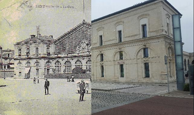 Saint-Nazaire - La Gare