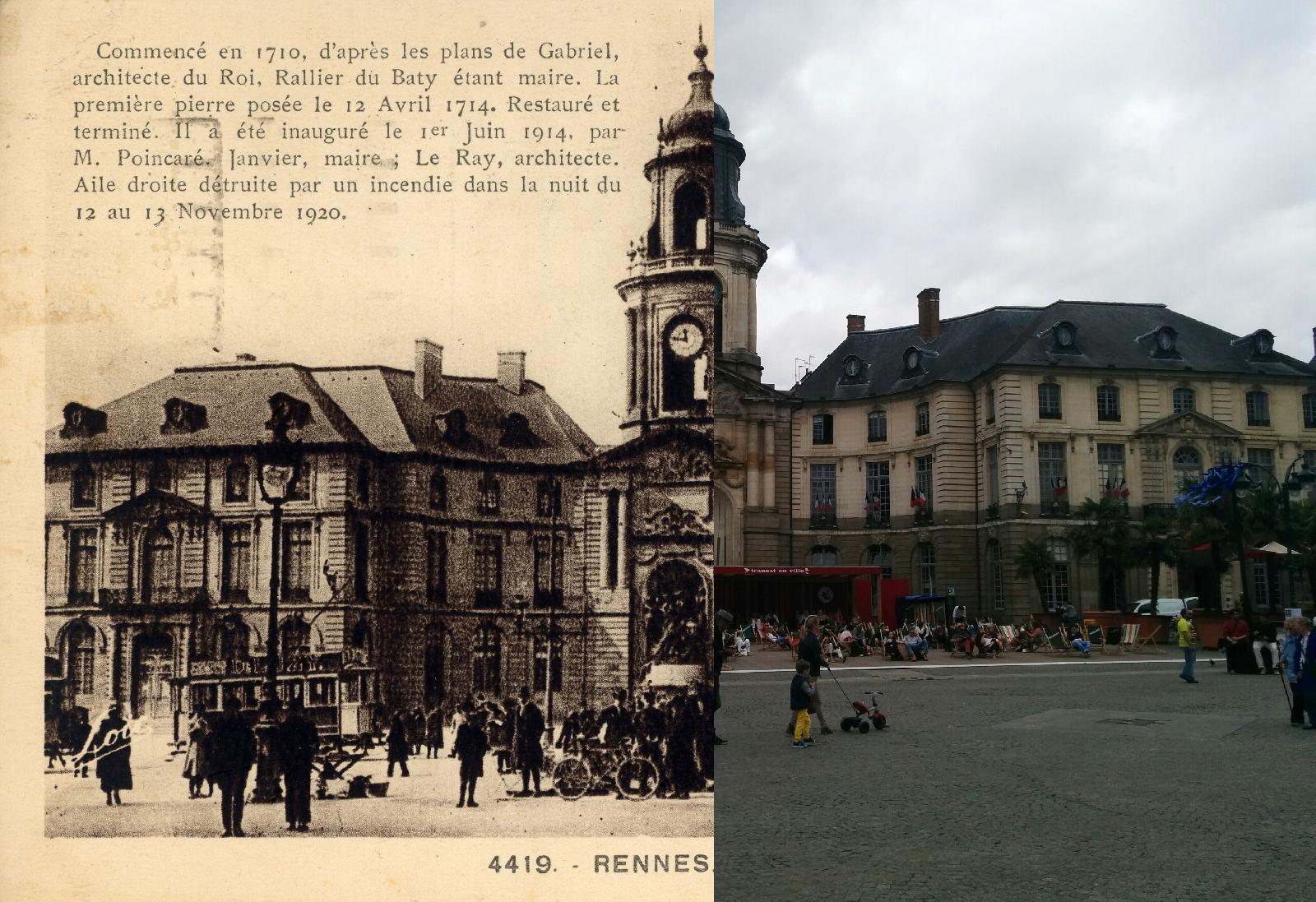 Rennes - L'Hôtel de Ville