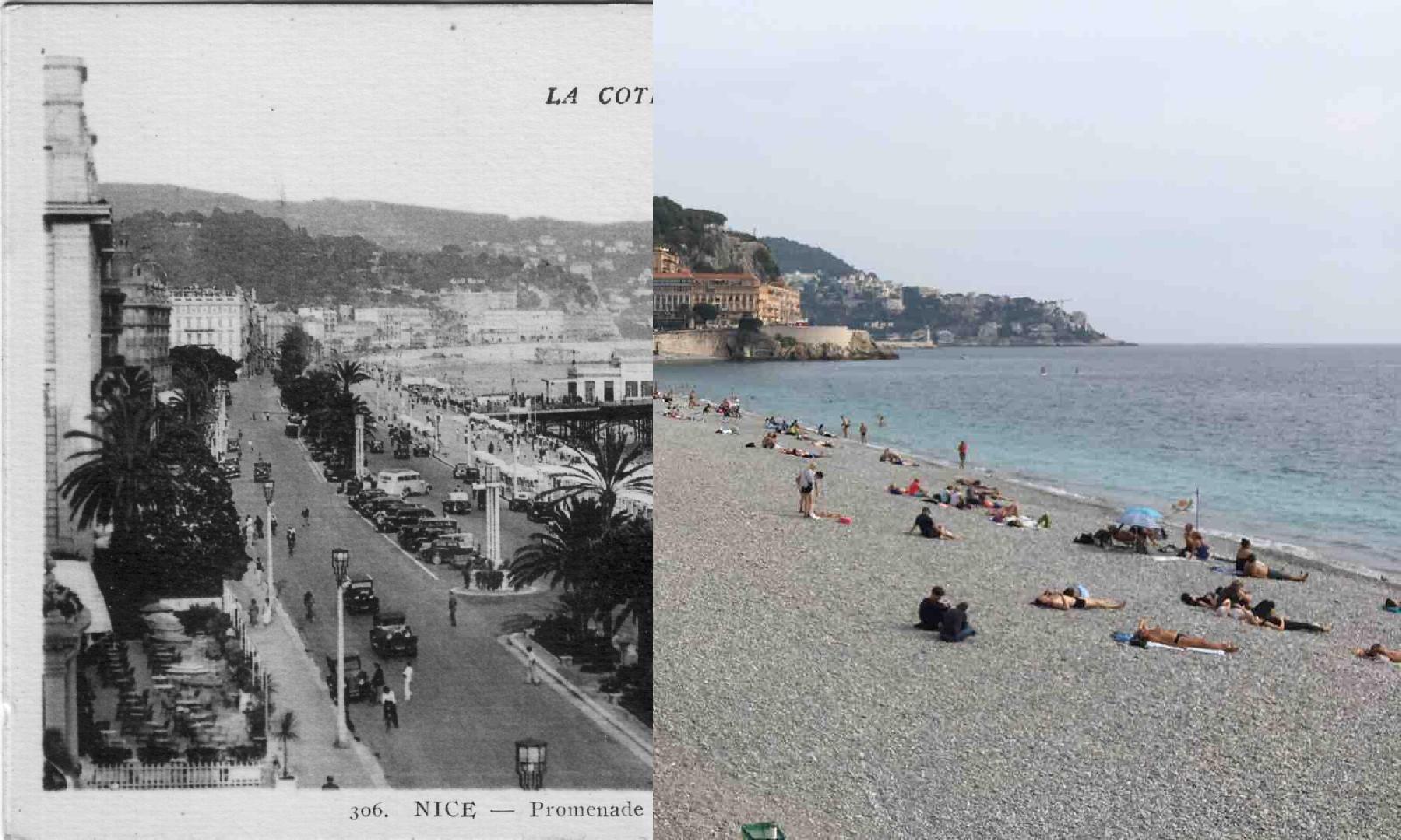 Nice - La Promenade des Anglais et jetée-promenade