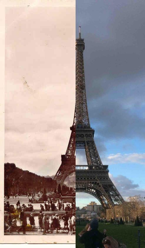 Paris - Paris : la Tour Eiffel