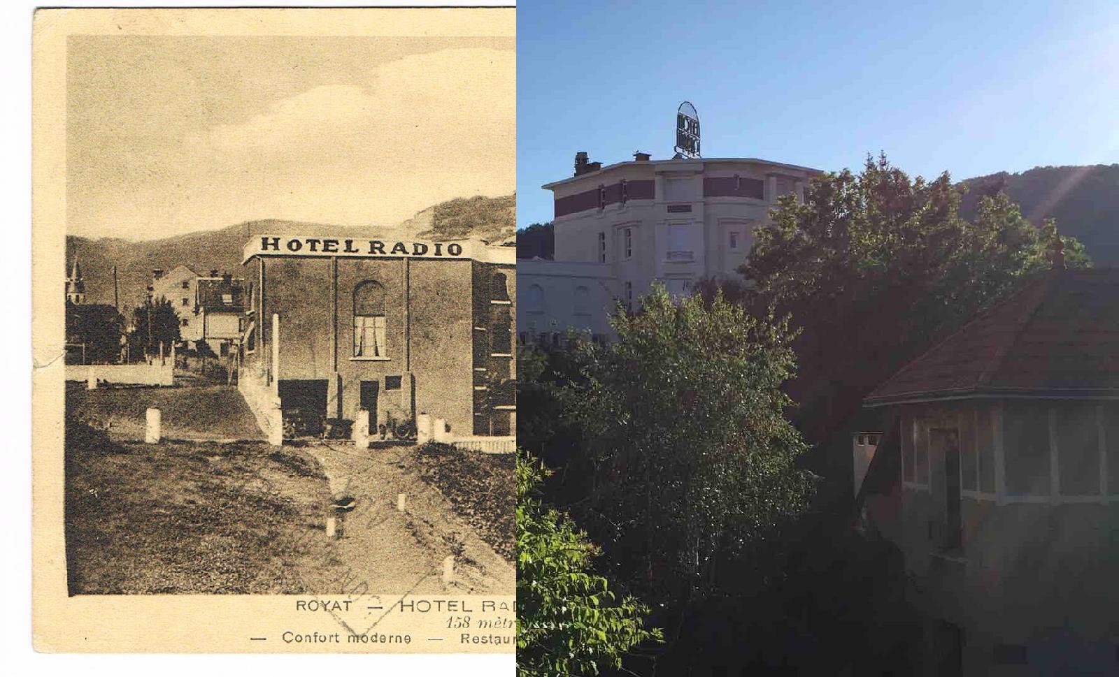 Royat - Royat - INSEE 63308 - Hôtel RADIO. Av de Sedaiges.